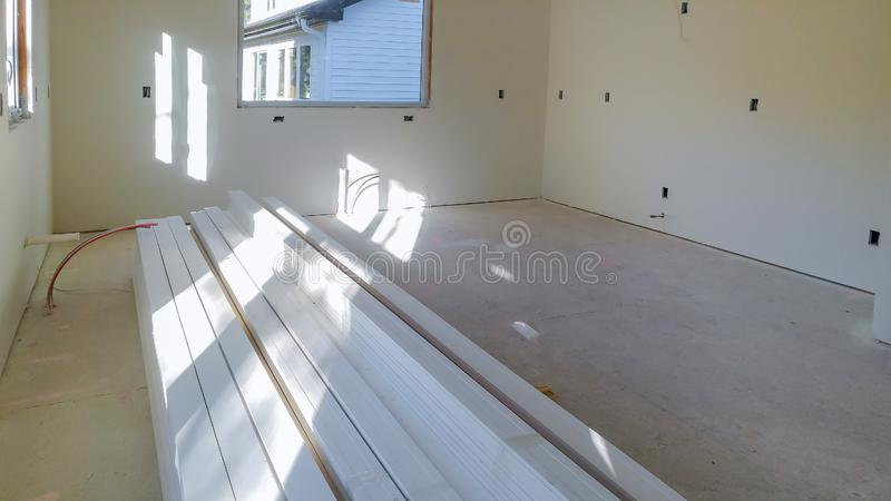 Process for under construction, remodeling, renovation, extension, restoration and reconstruction stock images