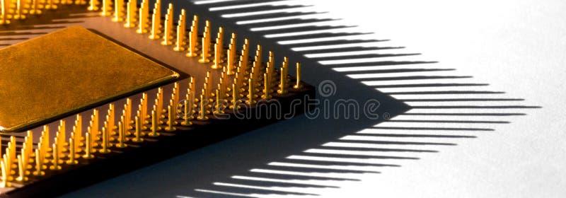 Processador central fotografia de stock royalty free