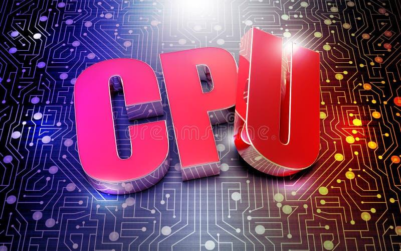 Processador central 3d