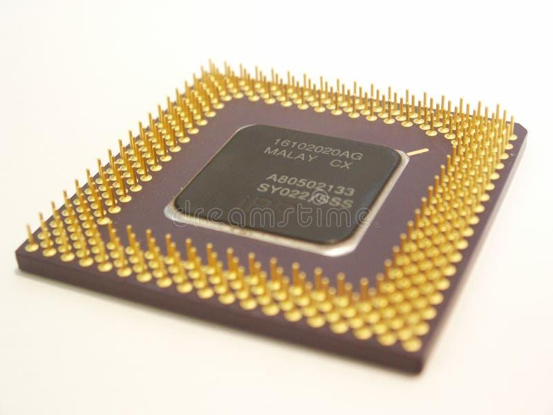 Processador do computador imagem de stock royalty free