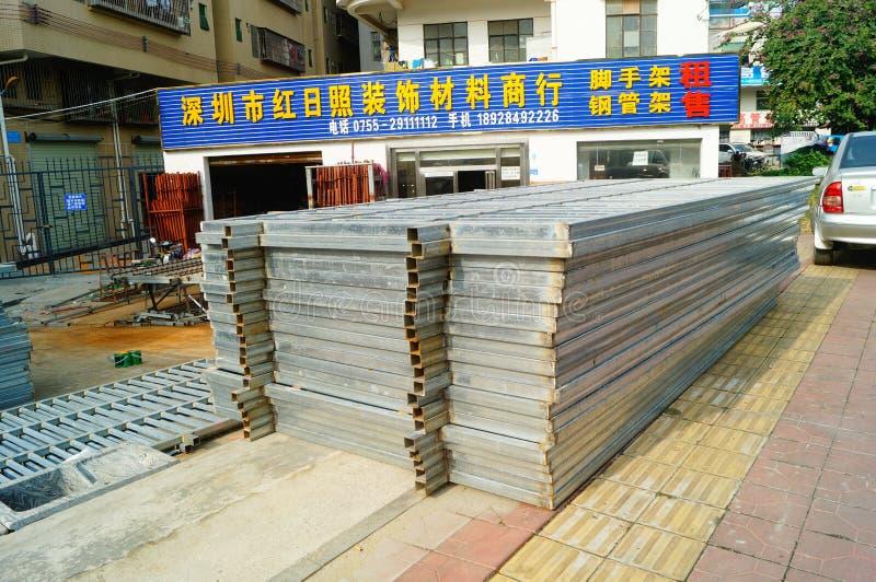 Processamento de materiais arquitetónico da decoração foto de stock