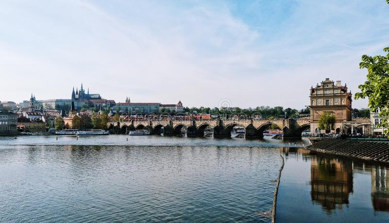 Panorama Prague, Czech Republic royalty free stock image