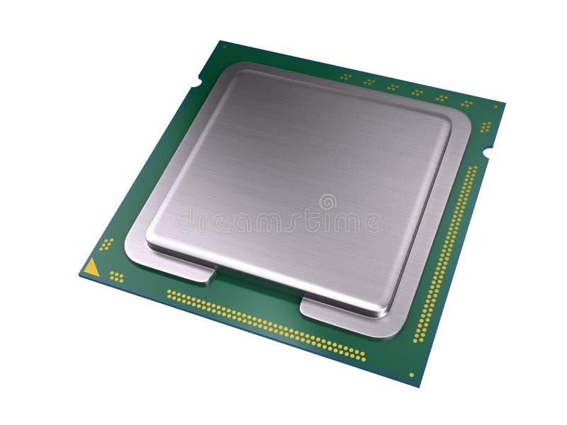 Processeur d'ordinateur central illustration libre de droits