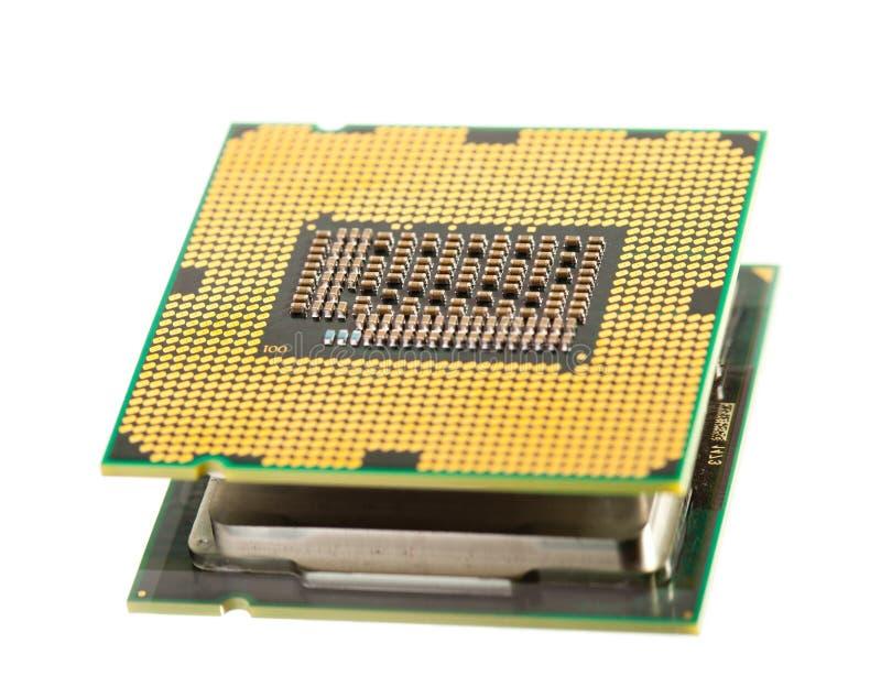 Processeur de CPU photographie stock libre de droits