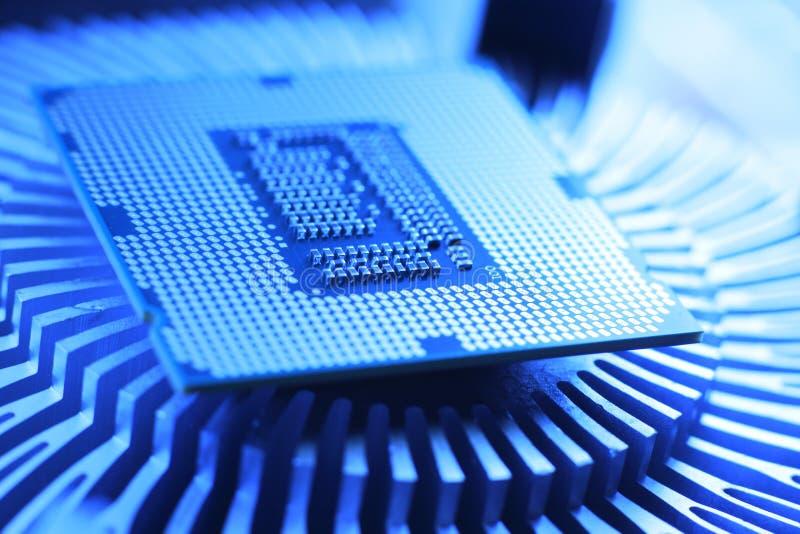 Processeur de technologie neuve images stock