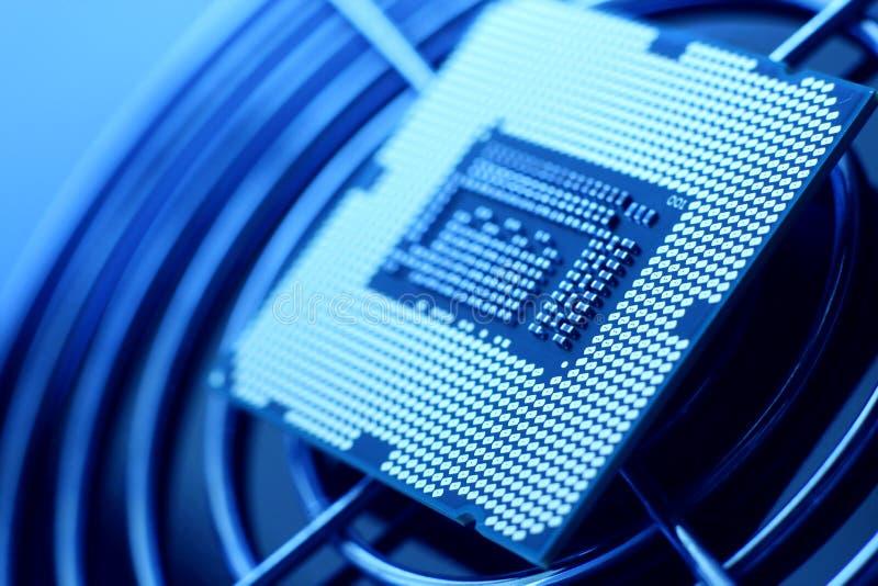 Processeur de technologie neuve photos libres de droits