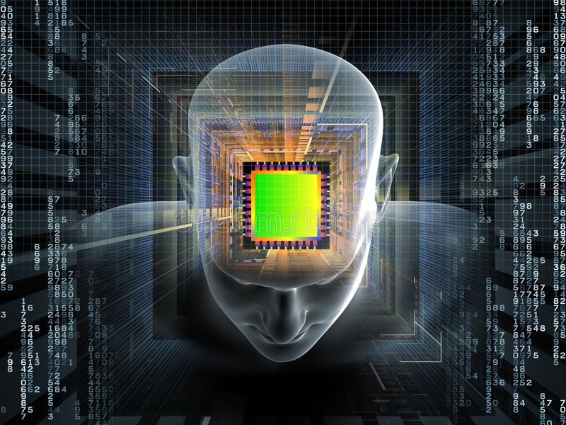 Processing Mind Stock Images