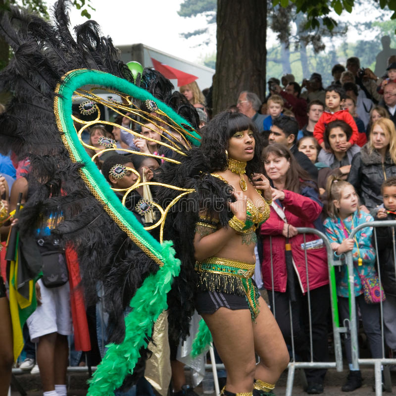 Download Procession Of Colorful Costumes Of Luton Carnival Editorial Photography - Image: 14562297