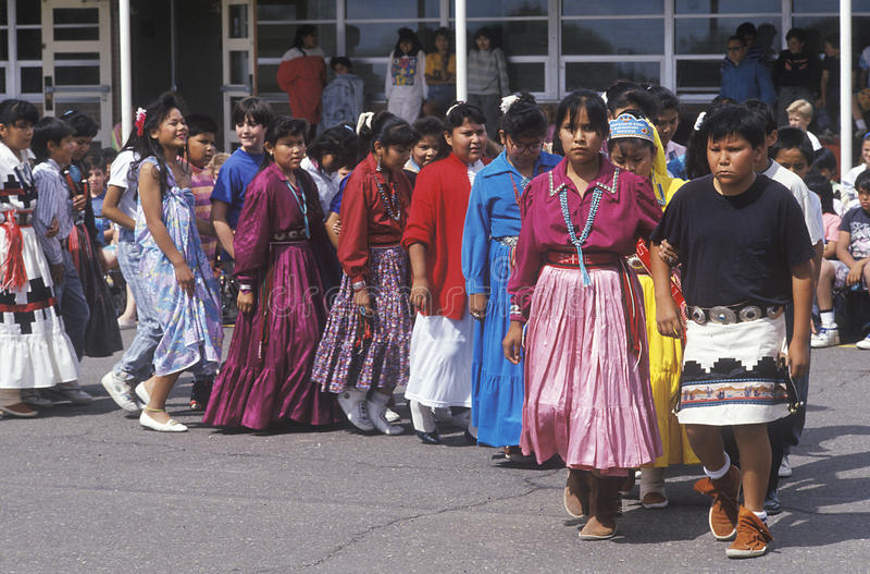 Download Procession Of Costumed Navajo Schoolchildren Editorial Image - Image: 26251790