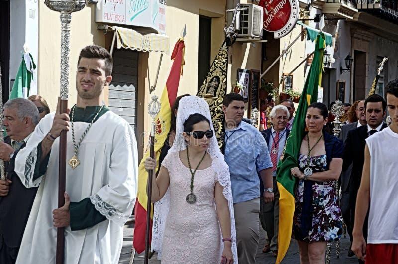 Download Procession In El Puerto De Santa María (Cadiz) 31 Editorial Image - Image: 32142290