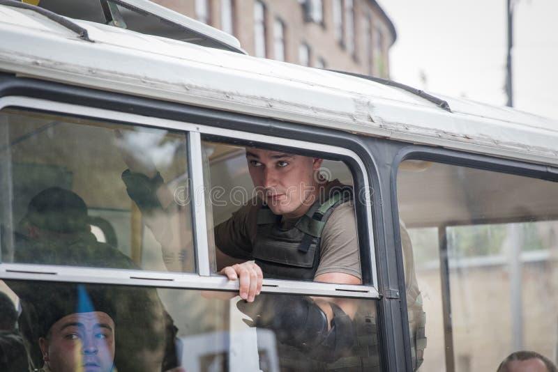 Procession för fred i Kyiv fotografering för bildbyråer