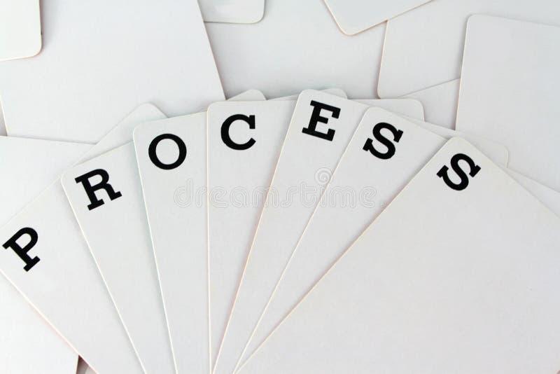 Processo fotografia stock
