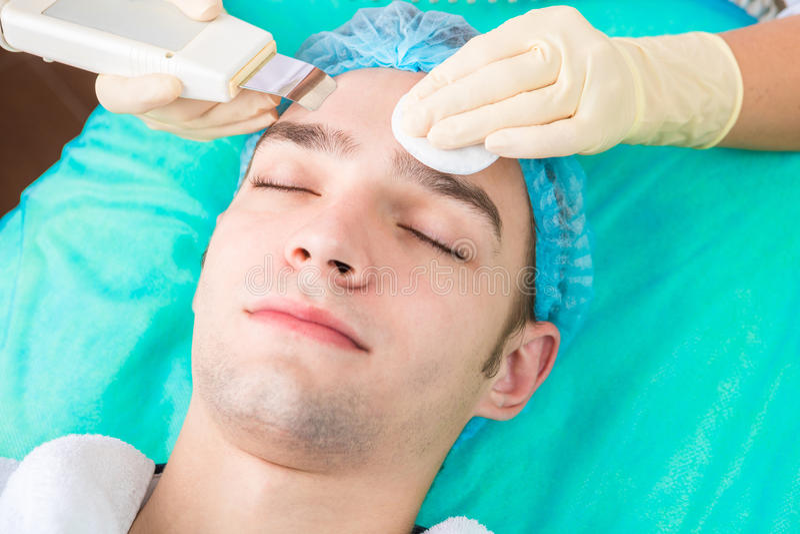 Processo de Cosmetological foto de stock royalty free