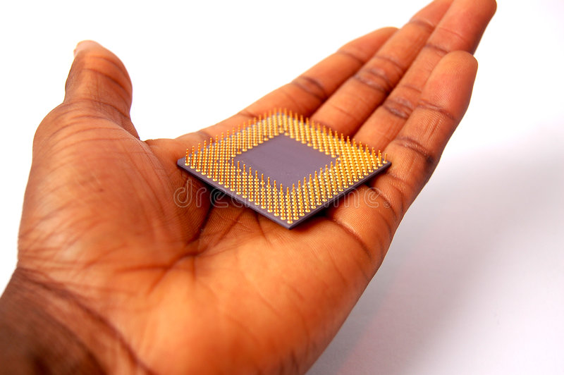 Download Processor in my hand stock image. Image of processor, storage - 471571