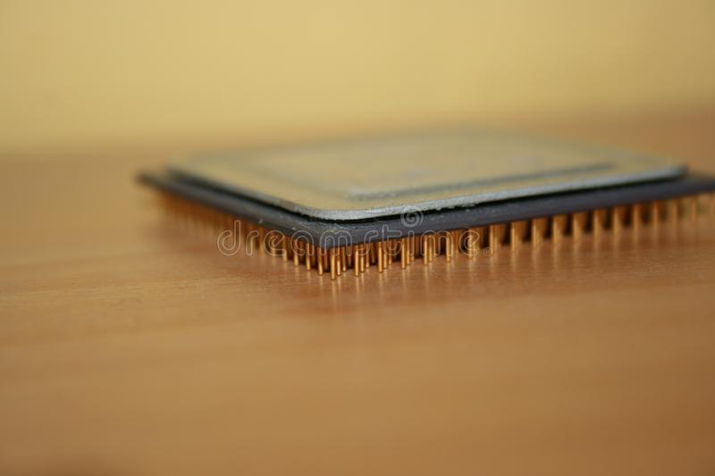 Download Processor on table stock photo. Image of pins, component - 6906344