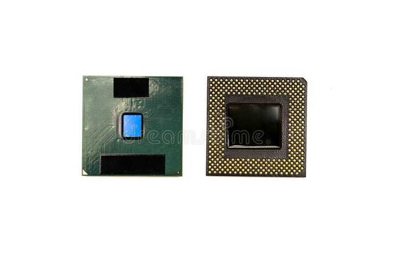 Processorer av datoren arkivfoto