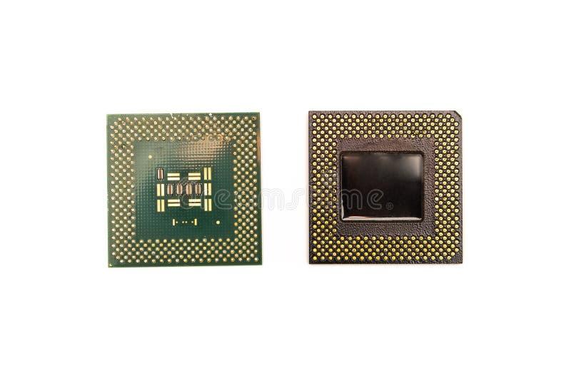 Processorer av datoren arkivbilder