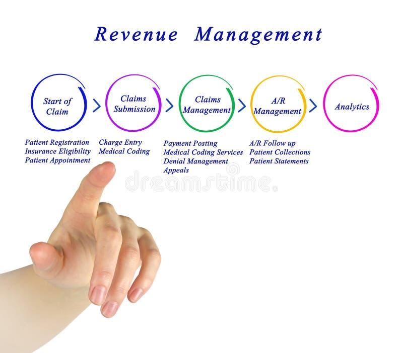 Processus de gestion de revenu image stock