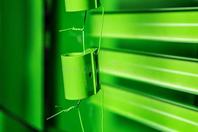 Prochowy obraz metali szczegóły zdjęcie stock