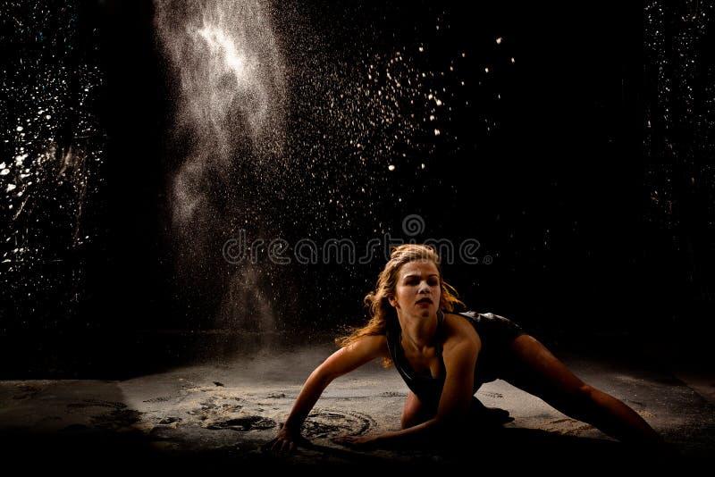 Prochowy tancerz akci depresji klucz obrazy royalty free