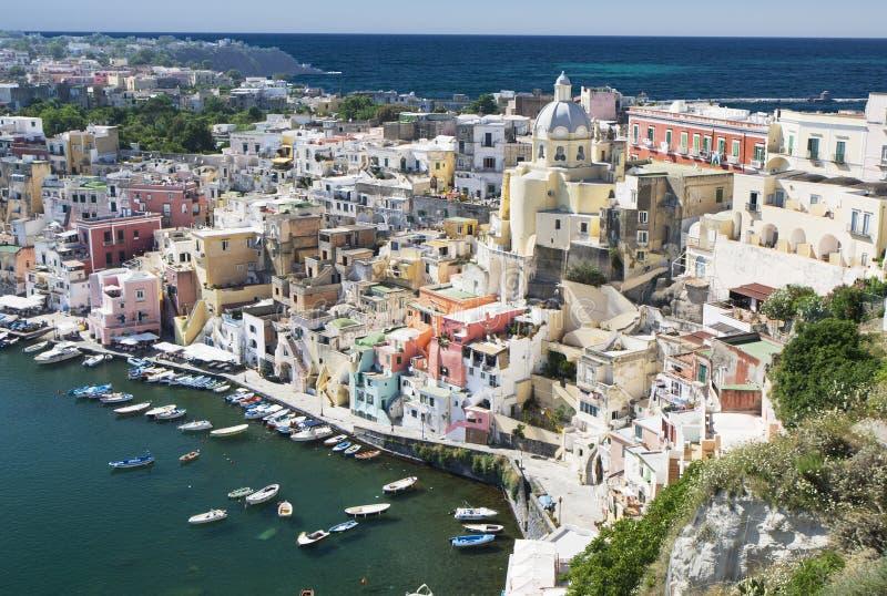 procida της Ιταλίας Νάπολη στοκ φωτογραφία