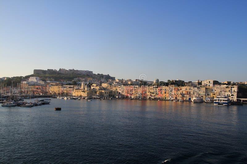 Procida, Italie images libres de droits