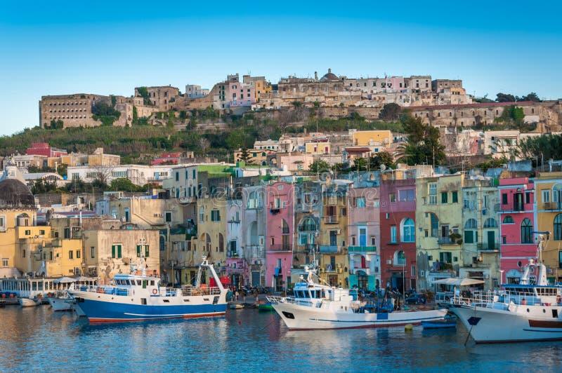 Procida, Nápoles, Italia fotografía de archivo libre de regalías