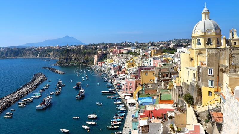 Procida, Naples, Italie photographie stock libre de droits