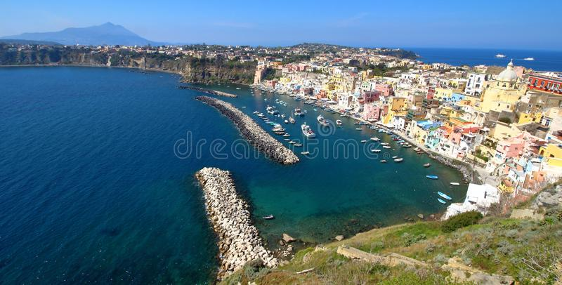 Procida, Naples, Italie photo stock