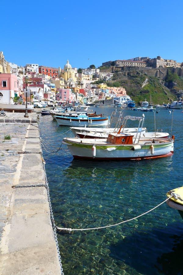 Procida, Naples, Italie image libre de droits