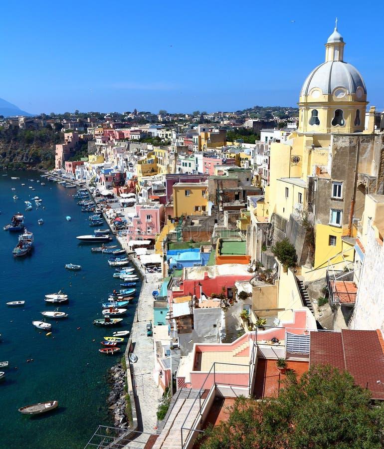 Procida, Naples, Italy stock photo