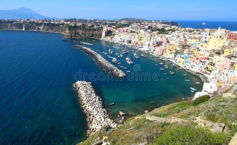Procida, Naples, Italy royalty free stock photography