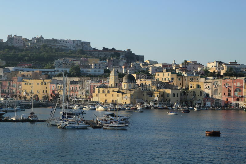 Procida, Włochy obraz royalty free