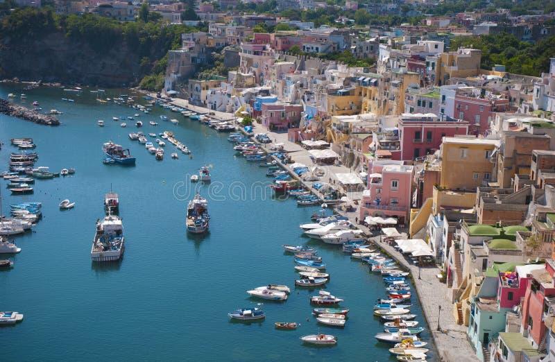 Procida wyspa, Włochy fotografia stock