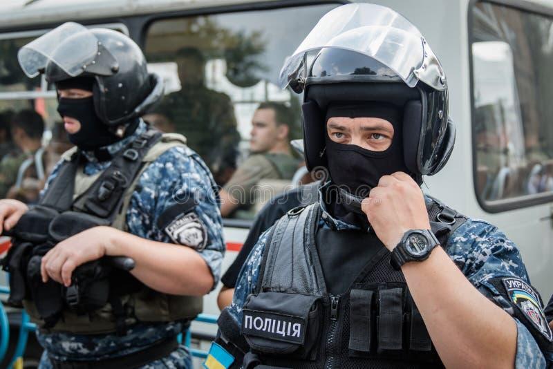 Procissão para a paz em Kyiv foto de stock royalty free