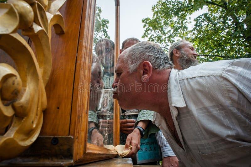 Procissão para a paz perto de Kyiv imagem de stock royalty free