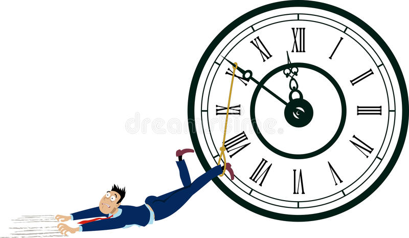 procrastinator royalty illustrazione gratis