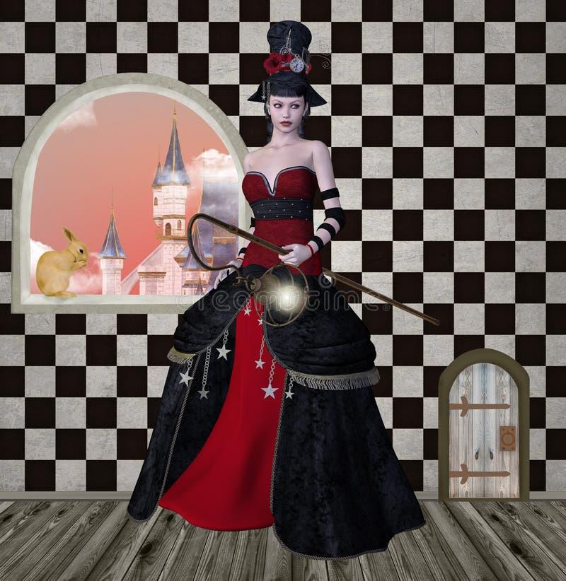 Procurando Alice ilustração royalty free