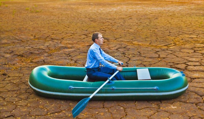 Procurarando o eldorado no deserto foto de stock royalty free