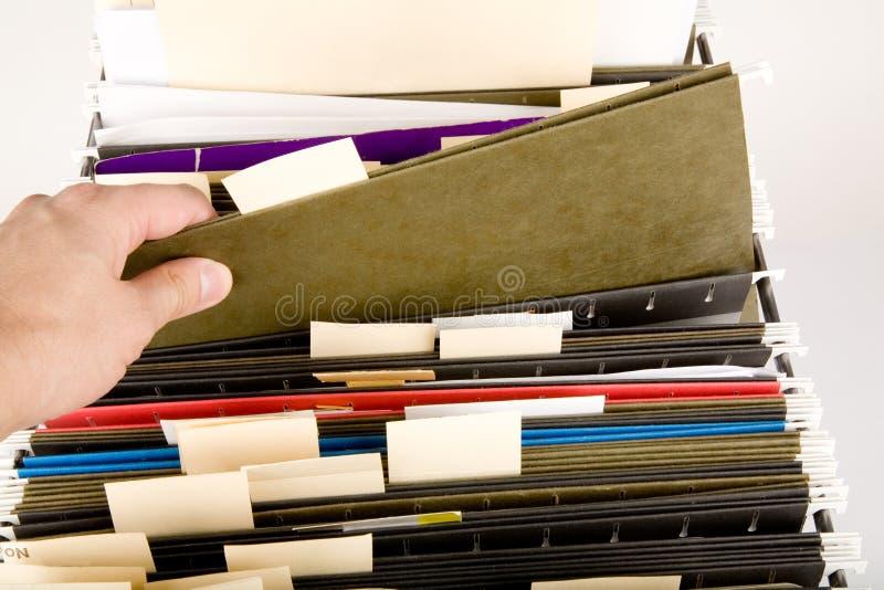 Procurarando um arquivo imagem de stock