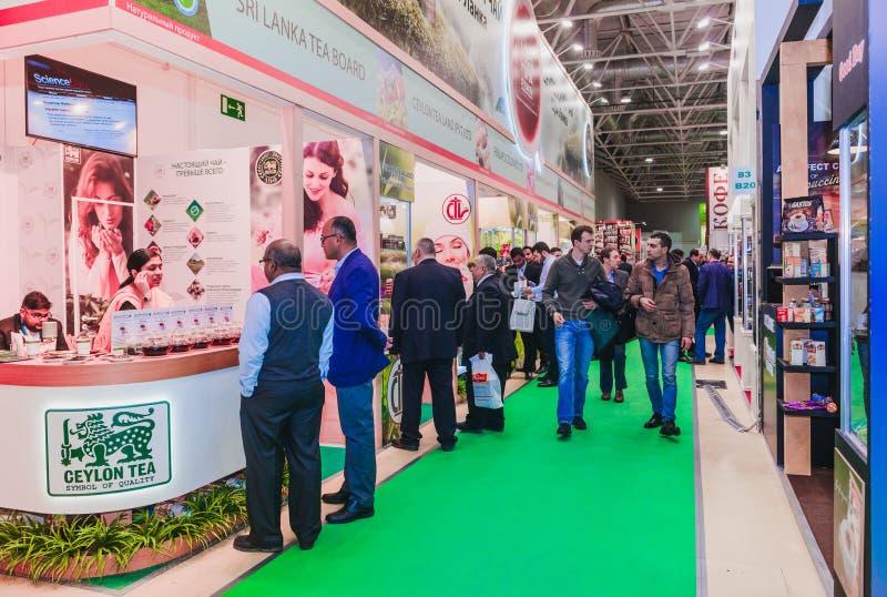 PRODEXPO 2017 - выставка для еды стоковая фотография rf