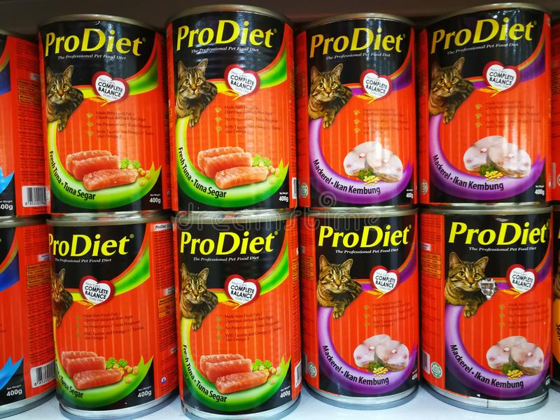 proDiet pet food royalty free stock photography