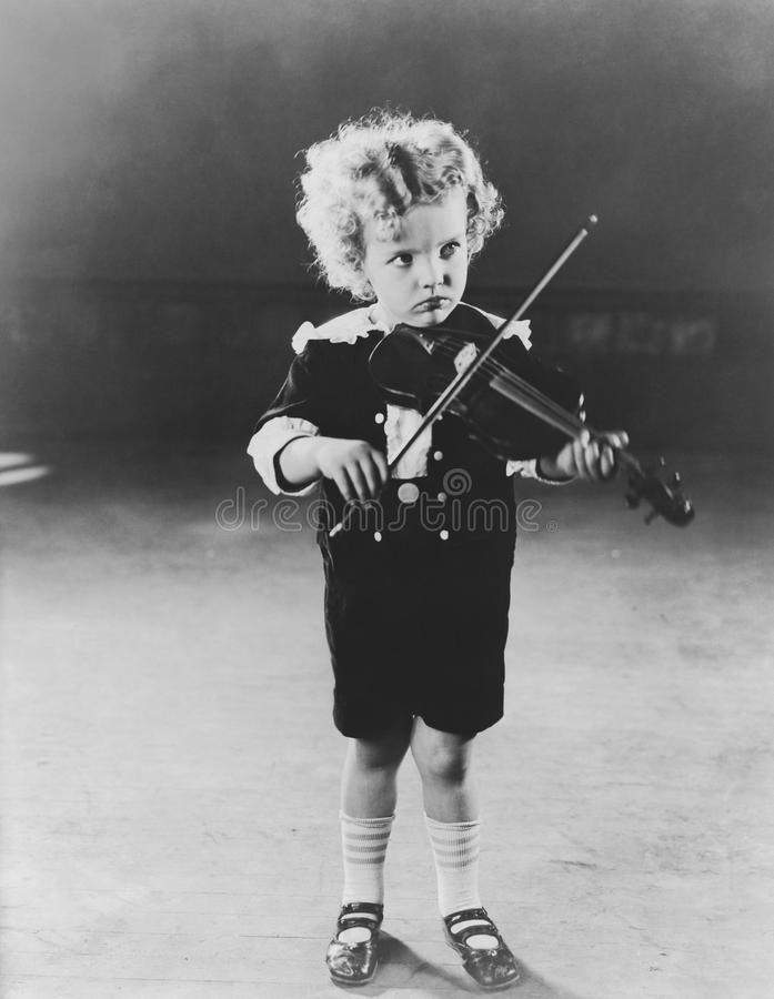 Prodige d'enfant photo stock