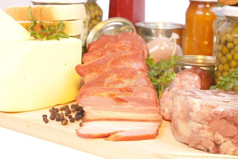 Prodotti alimentari immagine stock