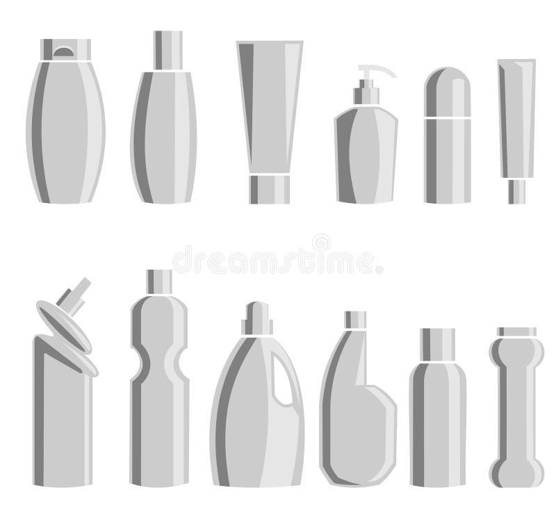 Prodotti chimici di famiglia Illustrazione di vettore fotografia stock
