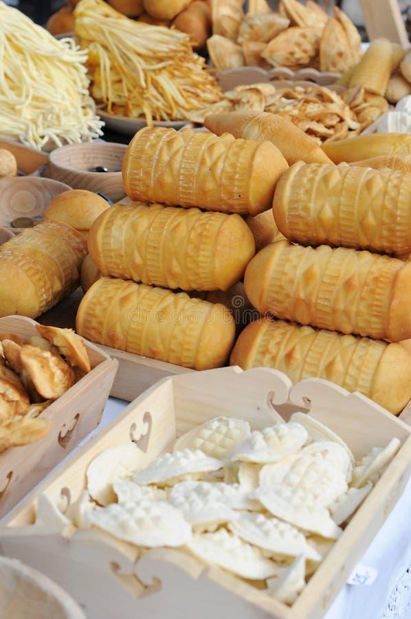 Prodotti del formaggio fotografie stock libere da diritti