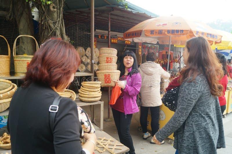 Prodotti di bambù fotografia stock libera da diritti