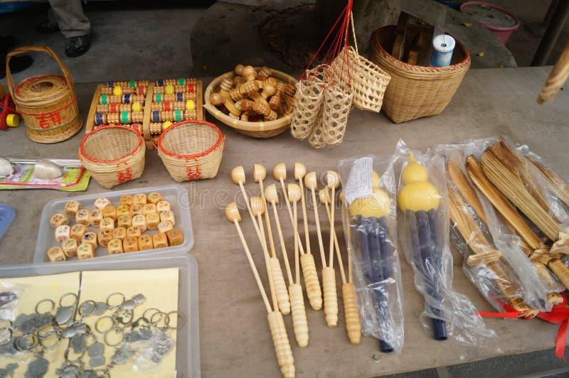 Prodotti di bambù immagini stock
