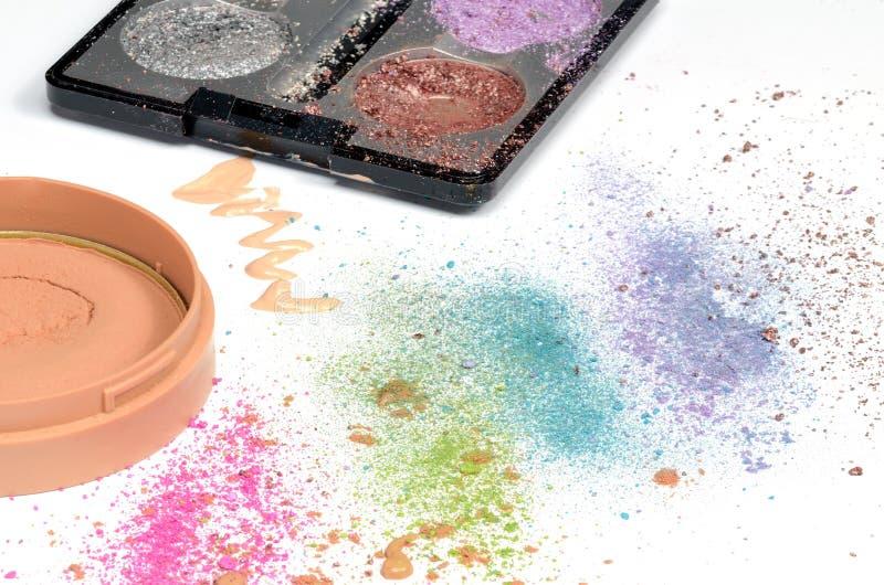 Prodotti di Skincare fotografie stock libere da diritti