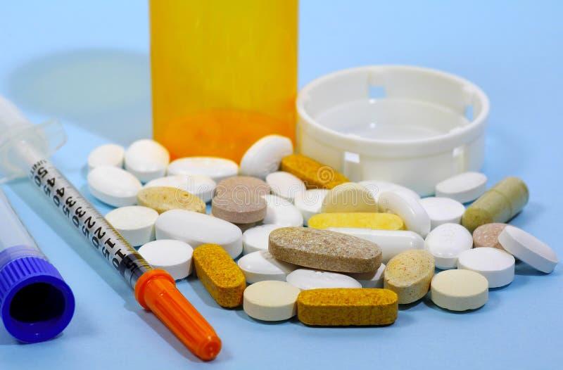 Prodotti Farmaceutici Fotografie Stock